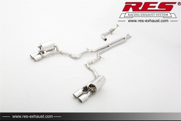 All SS304 /Front Pipe+Valvetronic Catback System